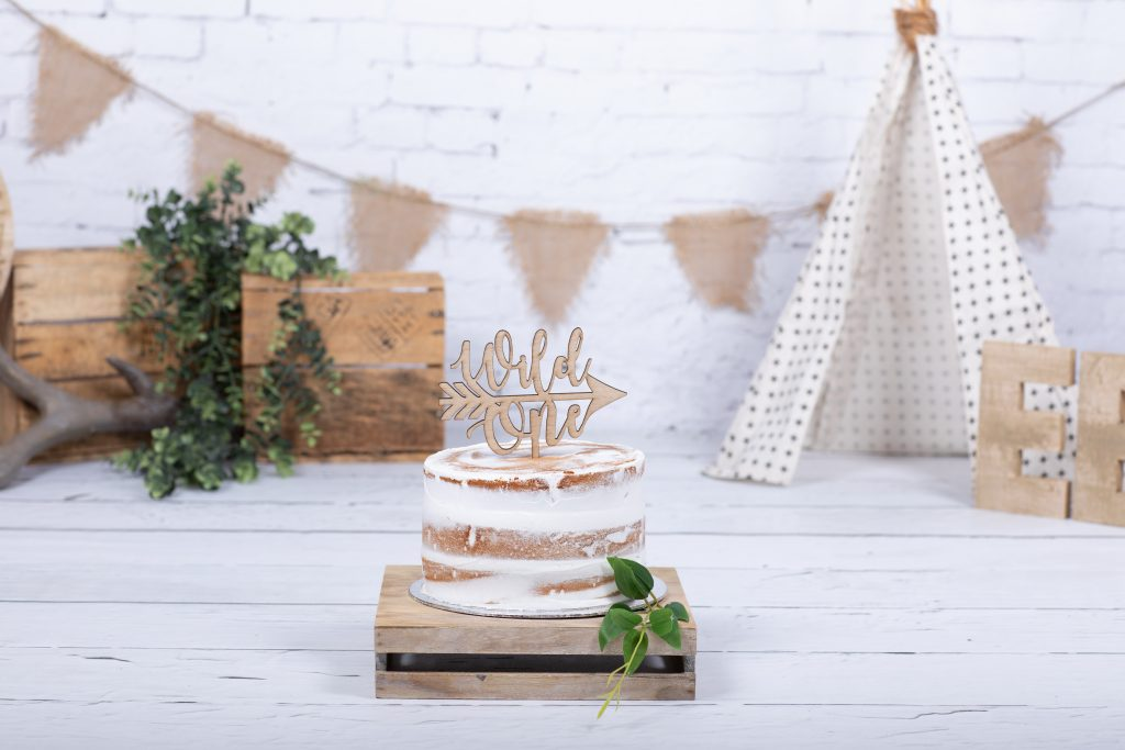 cake smash taart bij eye flash fotografie in Spijkenisse