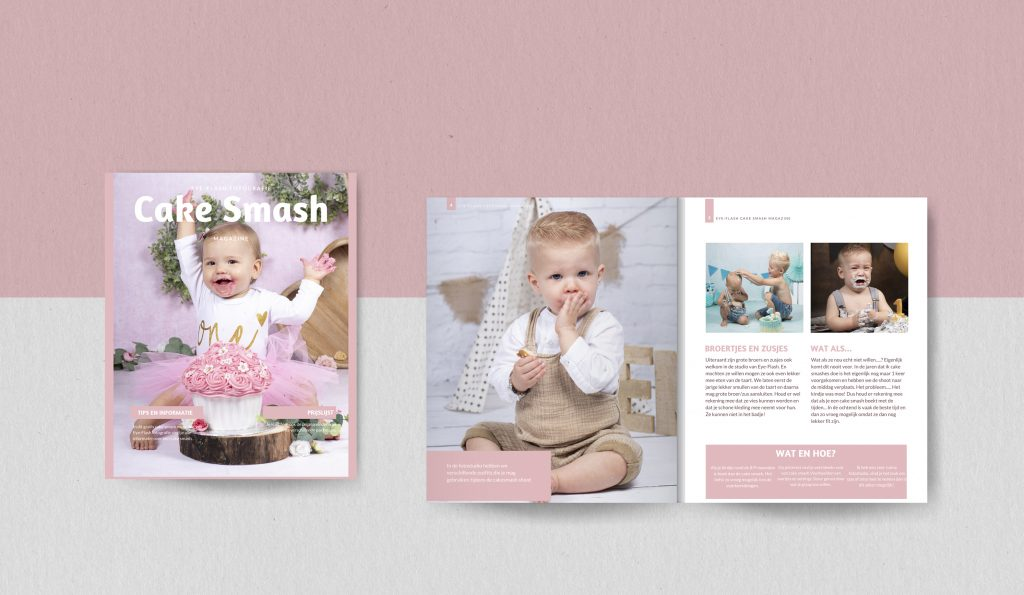 Cake Smash magazine van Eye-Flash Fotografie